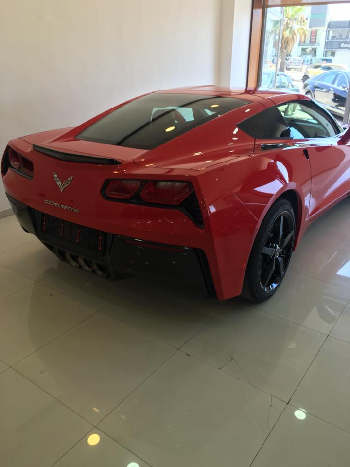 Hala Bazaar For Sale Corvette C7 Model 2015 In Amman