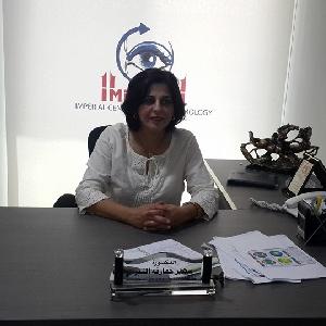 الدكتورة سهير حمارنة النبر - استشاري طب وجراحة عيون في الاردن
