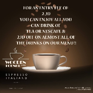 All you can drink Tea or Nescafe offer in…
