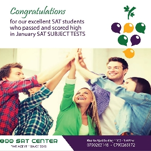 800 SAT CENTER AMMAN - Congratulations for…