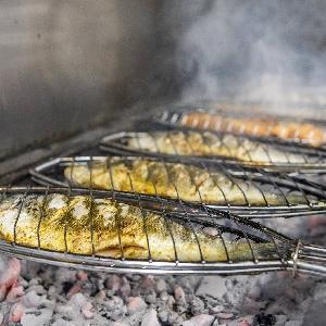 بيع وشوي السمك الطازج…