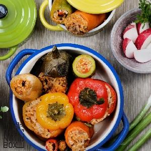 وجبات الدايت - محاشي صحية…