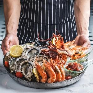 خدمة طهي الاسماك الطازجة…