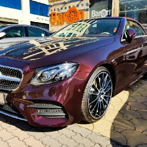 For sale 2018 Mercedes E300 in Amman zero…