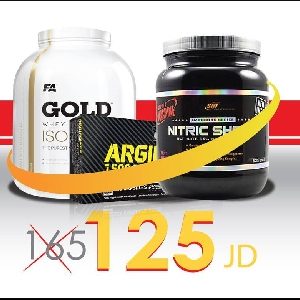 Isolate Gold + Nitric Shock + Argipower…