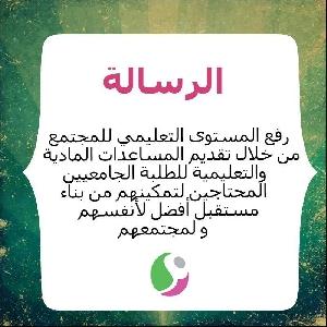 رسالة جمعية الافاق الخيرية…