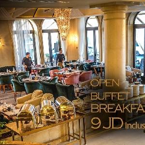 Breakfast Open Buffet @ The Lobby Restaurant…