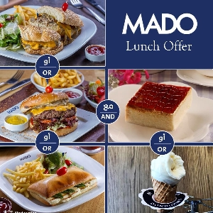 MADO Lunch Offer - عرض غداء من…