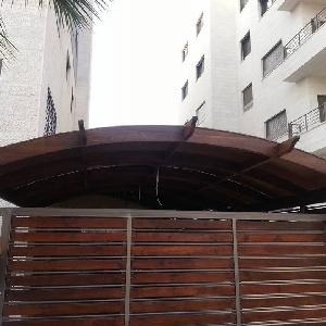 مظلات حديد خشب لكسان المنيوم…