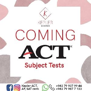 ACT Exam Preparation Courses in Amman Jordan…