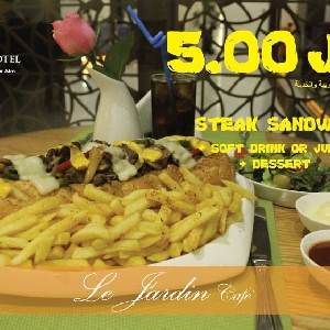 Steak Sandwich Lovers - محبي ستيك…