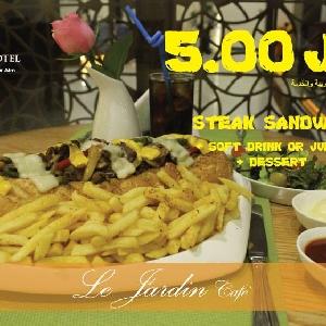 Steak Sandwich Lovers - محبي ستيك…