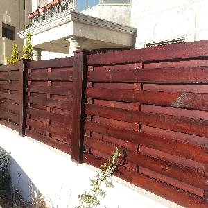 اسوار وسواتر خشبية 0795241229…
