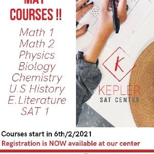 SAT 2 May 2021 Exam Preparation Courses…