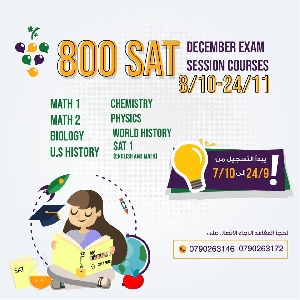 SAT December 2018 Exam Preparation Courses…