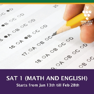 American SAT 1 preparation course in Amman…