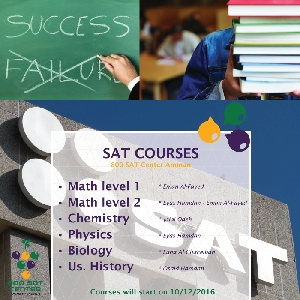 Book your seat to pass SAT exams with 800…