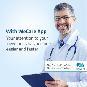 With WeCare App your attention to your loved…