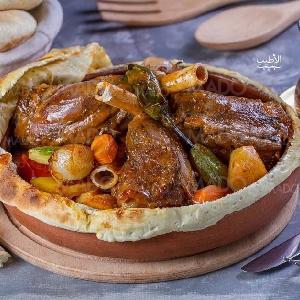 اطيب فخارة موزات لحم مغطى…