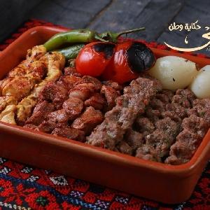 تواصي مشاوي بنكهة فلسطينية…