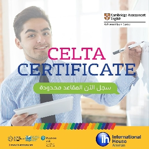 Celta Online Certified Courses in Jordan…