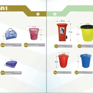 Waste Plastic Container and Basket - Orient…