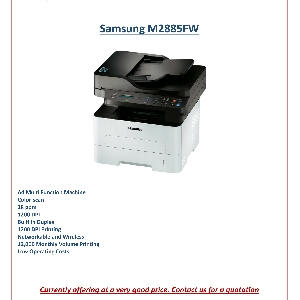Samsung MultiXpress عروض طابعات…