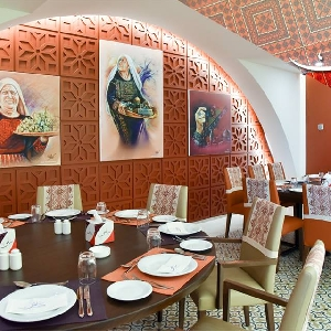 Palestinian Restaurant @ Jordan - Salma…