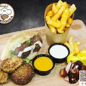 خوش فلافل @ عمان - مطعم…