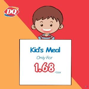 عروض وجبات كيدز ميل للاطفال…