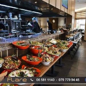 بوفيه عشاء مطعم فلير يوميا…