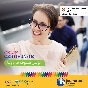 Cambridge Celta Certificate - شهادة…