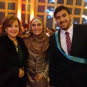 Queen Rania Outstanding UK learner awards…